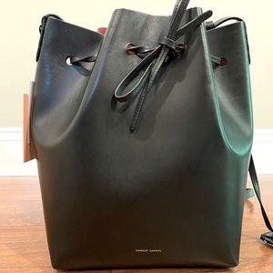 Mansur Gavriel Large Bucket Bag - Flamma